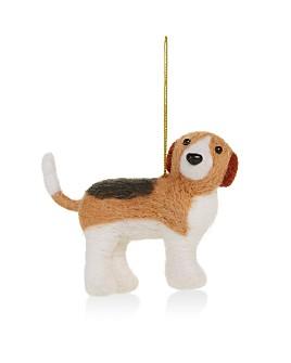 Bloomingdale's - Wool Dog Tree Ornament - 100% Exclusive