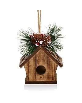 Bloomingdale's - Wood Birdhouse Ornament - 100% Exclusive