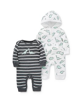 Little Me - Boys' Dino Coveralls, 2 Pack - Baby