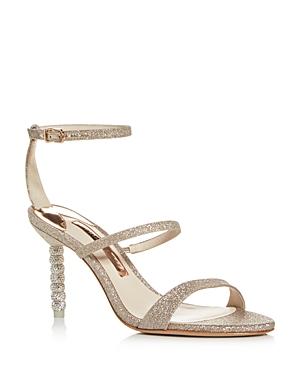 Sophia Webster Women's Rosalind 85 Strappy Glitter High-Heel Sandals