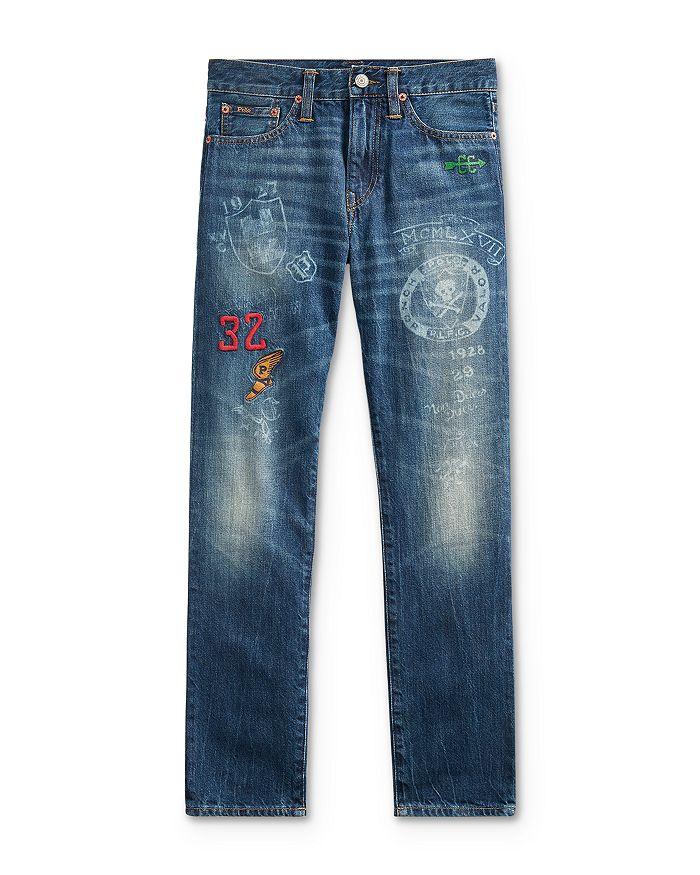 Ralph Lauren - Boys' Athletic Graphic Jeans - Big Kid
