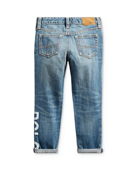 Ralph Lauren - Girls' Polo Astor Slim Boyfriend Jeans - Little Kid