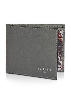Ted Baker - Fluu Leather Printed Bifold Wallet