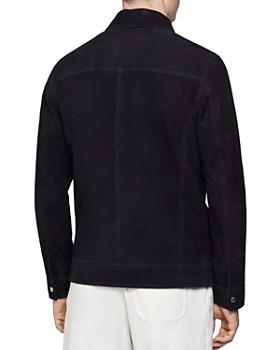 REISS - Field Suede Four-Pocket Jacket