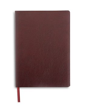 ROYCE New York - Pebbled Leather Lined Journal
