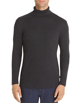 BOSS - Tenore Ribbed Turtleneck Sweater
