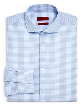 HUGO - Double Check Slim Fit Dress Shirt