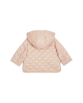 Burberry - Girls' Ilana Quilted Hooded Jacket - Baby