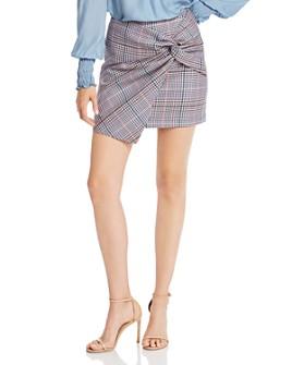 Parker - Montaigne Plaid Twist Mini Skirt