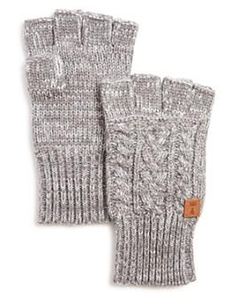 Frye - Cable-Knit Fingerless Gloves