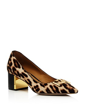 Tory Burch - Women's Gigi Pointed Toe Leopard-Print Pumps