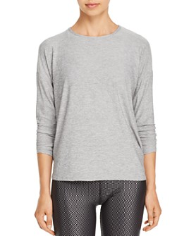 Beyond Yoga - Draw The Line Tie-Back Top