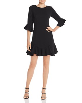 Adrianna Papell - Bell-Sleeve Dress