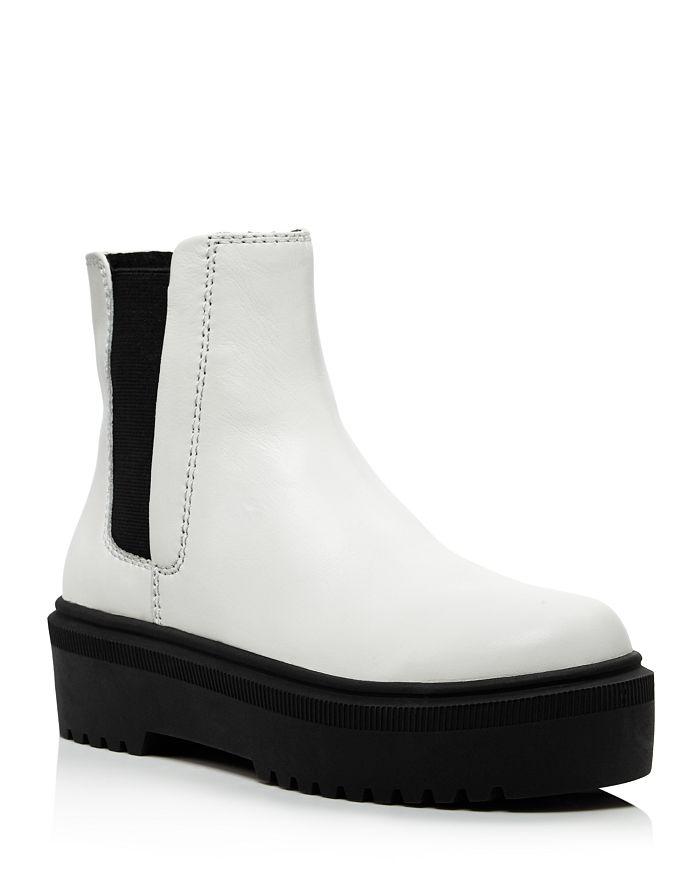 AQUA - Women's Loren Platform Ankle Boots - 100% Exclusive