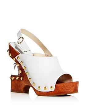 Sophia Webster - Women's Paradise 140 Slingback Platform Wedge Sandals