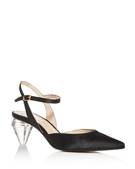 MARC JACOBS - Women's The Slingback Pointed-Toe Pumps