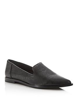Frye - Women's Kenzie Venetian Pointed-Toe Flats