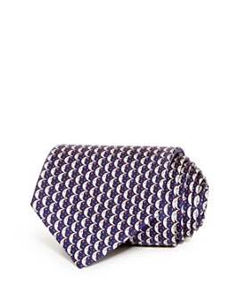 Salvatore Ferragamo - Cresent Moon Classic Silk Tie