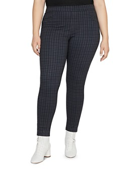 Sanctuary Curve - Grease Plaid Leggings