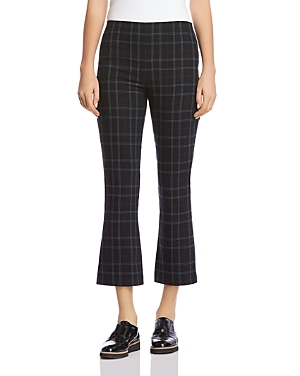 Bailey 44 Marie Plaid Cropped Flared Pants