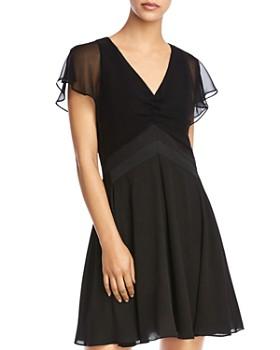 Bailey 44 - Monica Flutter-Sleeve Dress