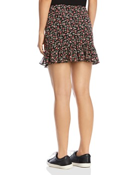Bailey 44 - Marilyn Ruffled Floral Mini Skirt