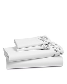 Sky - Floral Embroidered Sheet Set, Queen - 100% Exclusive