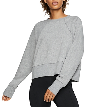 Nike T-shirts GET FIT LUX CROPPED SWEATSHIRT