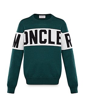 Moncler - Unisex Logo-Stripe Sweater - Little Kid