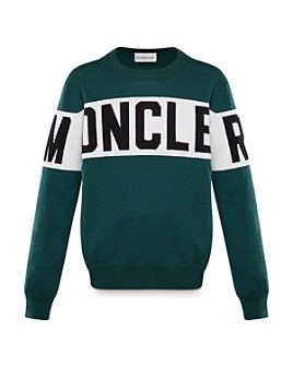 Moncler - Unisex Logo-Stripe Sweater - Big Kid