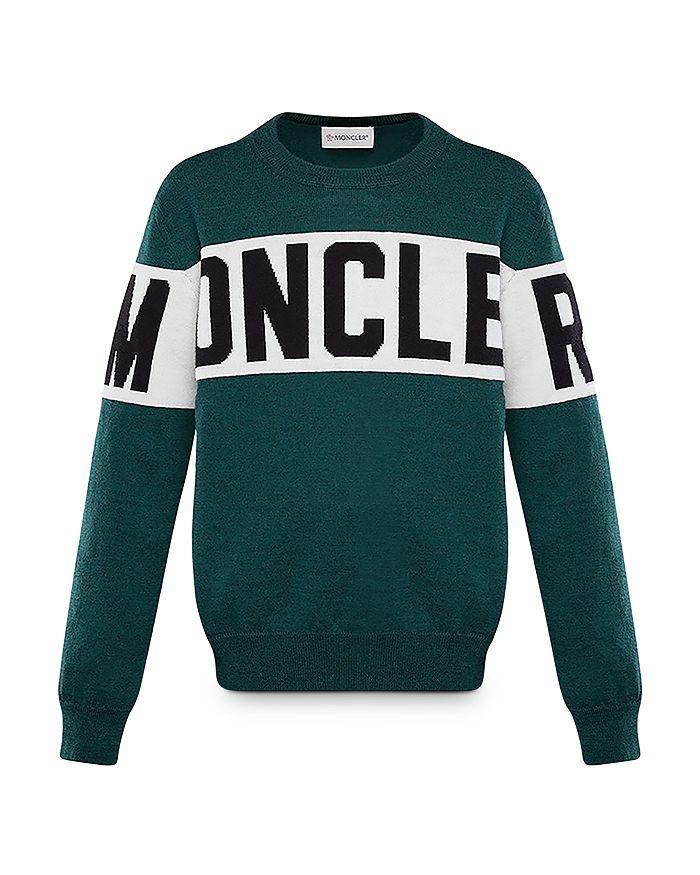 Moncler - Unisex Logo-Stripe Sweater - Big Kid
