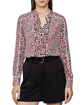 REISS - Ottilie Printed Blouse