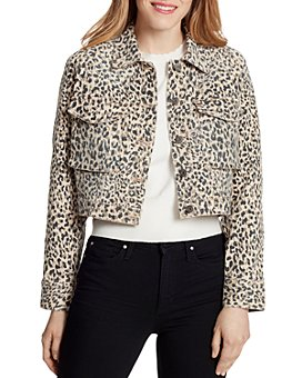 Ella Moss - Leopard-Print Denim Jacket