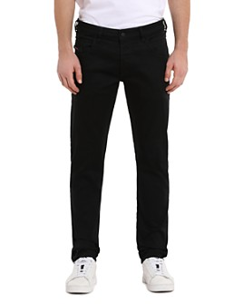 Diesel - D-Bazer Straight Slim Fit Jeans in Black
