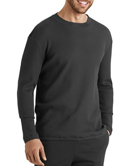 Hanro - Night & Day Pique Long-Sleeve Crewneck Tee