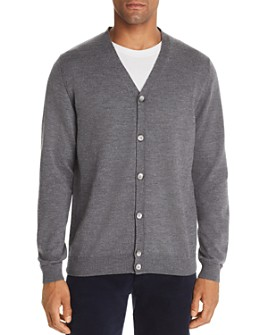 The Men's Store at Bloomingdale's - Merino Wool V-Neck Cardigan - 100% Exclusive