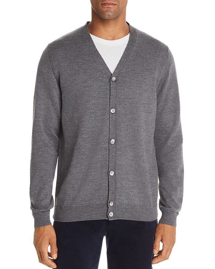 The Men's Store at Bloomingdale's - Merino Wool Cardigan - 100% Exclusive