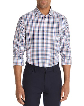 The Men's Store at Bloomingdale's - Four-Color Check-Print Classic Fit Shirt - 100% Exclusive