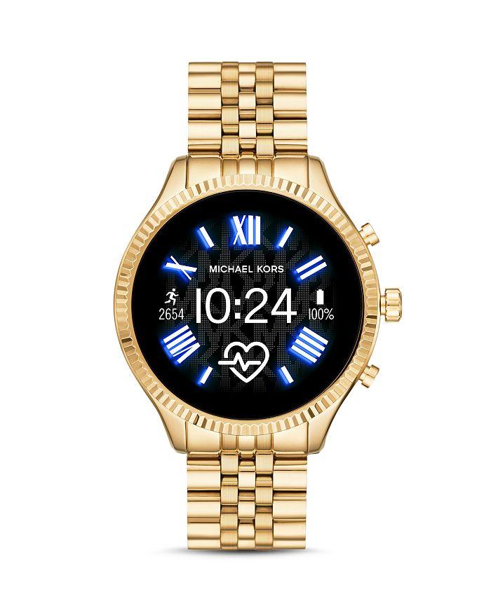 Michael Kors - Lexington 2 Link Bracelet Touchscreen Smartwatch, 44mm