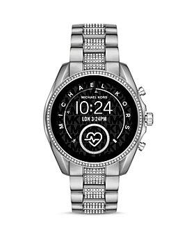 Michael Kors - Bradshaw 2 Pavé Link Bracelet Touchscreen Smartwatch, 44mm