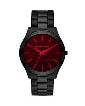 Michael Kors - Slim Runway Black Watch, 44mm