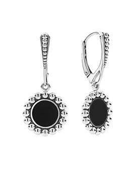 LAGOS - Sterling Silver Maya Black Onyx Drop Earrings