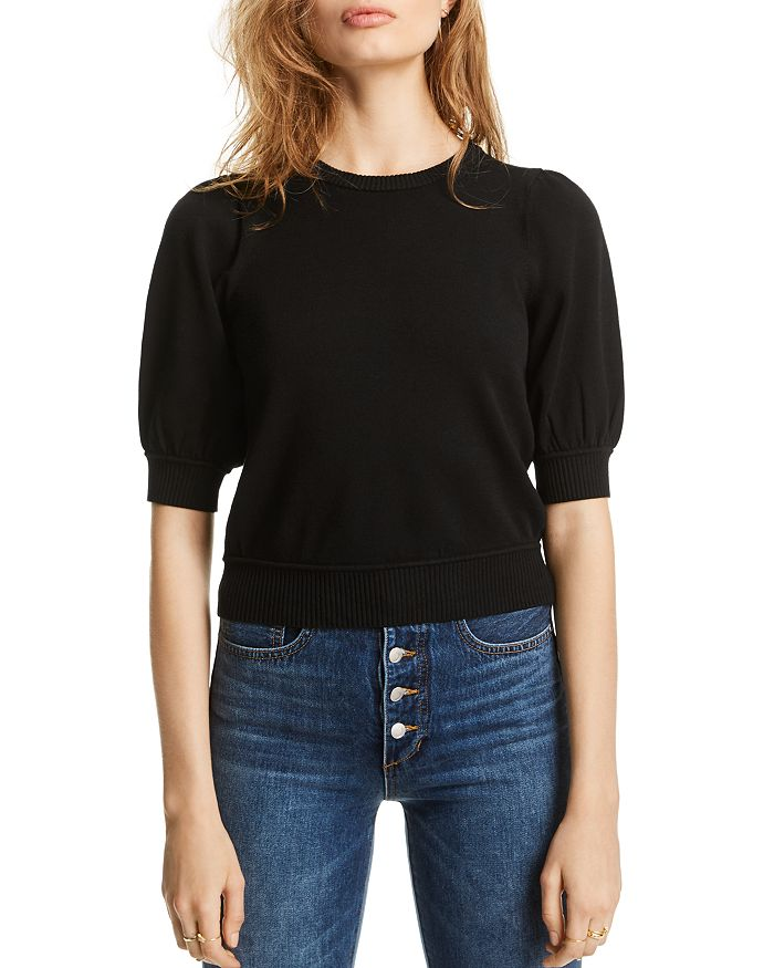 Lini Abigail Puff-sleeve Sweater - 100% Exclusive In Black