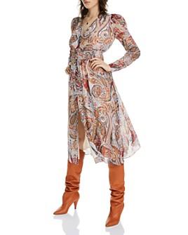 LINI - Erica Floral Paisley Midi Dress - 100% Exclusive