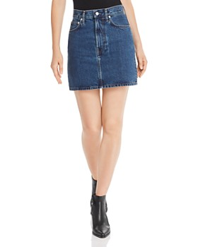 Helmut Lang - Femme Denim Mini Skirt