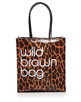 Bloomingdale's - Wild Brown Bag - 100% Exclusive