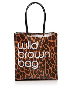 Bloomingdale's - Wild Brown Bag - 100% Exclusive