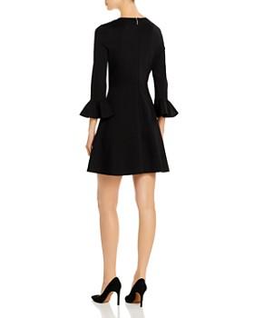 kate spade new york - Bell-Sleeve Ponte Dress