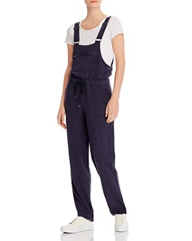 Billy T - Relaxed Drawstring-Waist Overalls