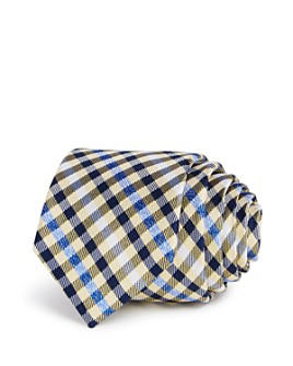 Michael Kors - Boys' Heathered Gingham Silk Tie